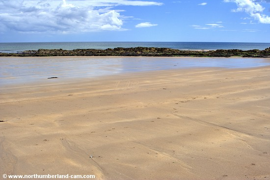 Flat sands and a calm sea - a perfect summer combination.